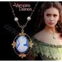 Colar Pingente Camafeu Katherine Pierce The Vampire Diaries