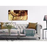 Quadro Decorativo Abstrato Sala Luas 55x100 Rf217