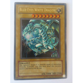 Blue Eyes White Dragon Jmp-001 Yu Gi Oh