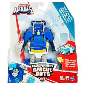 Playskool Heroes Transformers Rescue Bots Robot Policía