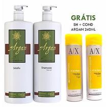 Doux Clair Selafix Botox De Argan Sem Formol + Brinde