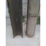 Moldes De Acero Para Columnas De Hormigon, Yeso, Cemento