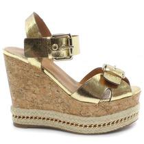 Sandália Espadrille Anabela Zariff Shoes   Zariff