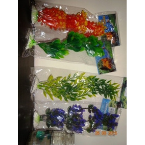 Plantas Artificiais Coloridas Kit Mix 20 Pcs P M G