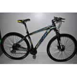 Bicicleta Venzo Amphion Rodado 29 24 Vel Frenos A Disco