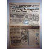 Jornal Ultima Hora Flamengo Caderno Esportivo N° Novembro 63