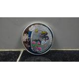 Moneda China Año Dragon Plata