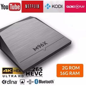 Tv Box M96x 4k Android 16gb Rom 2gb Ram Wifi Bluetooth