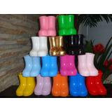 Kit 10 Unidades Vaso Cerâmica/galochas/botinhas/botas