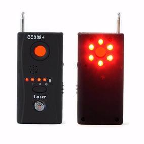 Detector De Camera E Escuta Cc308+ Gt-01 Sem Fio Espionagem