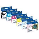 Paquete De 6 (juego Completo) Epson 79 T079120, T079220,...
