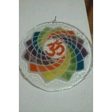 Objetos De Decoración En Vitrofusión Mandala Vidrio