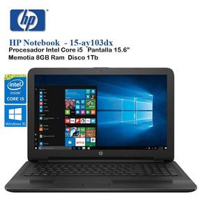Notebook Hp 15-ay103dx Intel I5 7200u 2.5ghz 1tb 8gb Ddr Orl