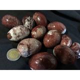 Piedra Jaspe Rojo En Forma De Huevo Tamaño Chico C/u