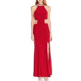 Vestido De Noche Trixxi Talla L Juniors Rojo Mujer