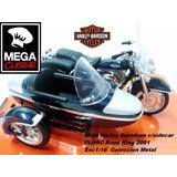 Harley Davidson 2001 Flhrc Road Sidecar Coleccion Esc1:18