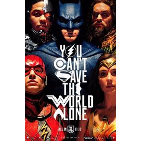 Poster Cartaz Liga Da Justiça #a