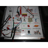 Banco De Pruebas De Partes Eléctricas Para Motos