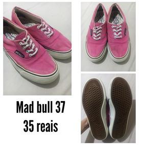 Tênis Mad Bull Rosa 37 Usado