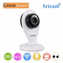 Mini Câmara Ip Sricam 720p Hd Wifi/suporte Micro Sd 128gb