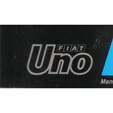 Libro-manual Fiat Uno Scr /cl ` 95/96 -original De Usuario