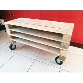 Mesa Centro Vintage Muebles Pallets Reciclados Moda Oferta!!