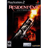 Resident Evil Outbreak Ps2
