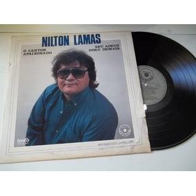 Lp Vinil - Nilton Lamas - Seu Adeus Doeu Demais - Mpb Cantor