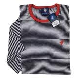 Camiseta Listrado Fino Algodão Plus Size G1 A G4 Bs-59