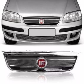 Grade Dianteira + Emblema Idea 2003 2004 05 06 07 08 09 2010