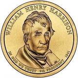 Moneda De 1 Dolar Estados Unidos - William Henry Harrison