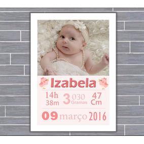 Quadro De Nascimento-maternidade-recém Nascido-infantil 010