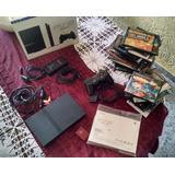Playstation 2+ 50 Juegos + 1 Control+ 1 Memory Card 8mb
