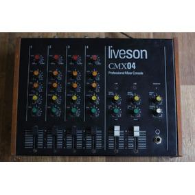Mesa De Som Liveson Cmx04 Mixer