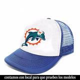 acfe3946e9d8b Futbol Americano Gorra Trucker Miami Dolphins Coleccion