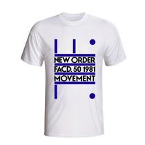 Camisa Camiseta Banda Rock New Order Movement