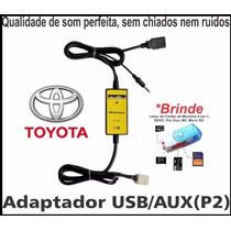 Adaptador Interface Usb Aux Toyota - Corolla Camry Rav4