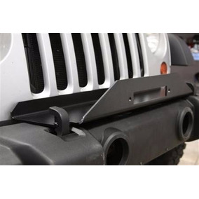 Base Para Winch Para Defensa Original De Jeep Jk (2007-2016)