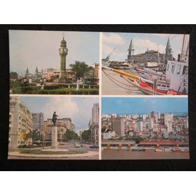 Postal Antigo Do Belém Do Pará Vários Locais Turísticos