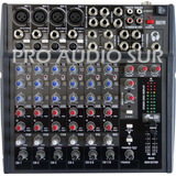 Consola De Sonido Gbr Md855 8 Canales Mixer Estudio Vivo