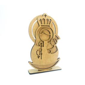 Figuras Religiosas - Virgen De Madera - Fabricarte