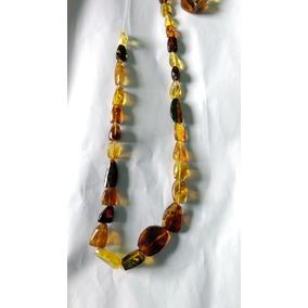 Collar De Ámbar De Chiapas Genuino