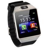 Relógio Celular Smart Watch Zd09 C/ Chip Câmera Cor / Preto