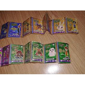 Coleção Tazos Digimon Completa