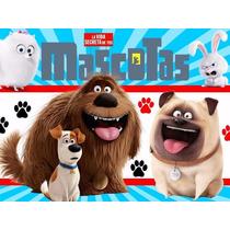 Kit Imprimible Candy Bar La Vida Secreta De Tus Mascotas 2x1