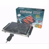 Churrasqueira Elétrica Giuliana Com Pedra Granito *promoção*