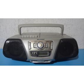Rádio Gravador / Cd Player Sharp - Ler Toda Descrição!!