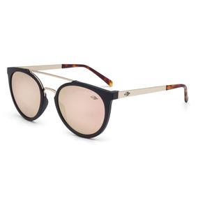 d0a68ceff51a1 Óculos De Sol Mormaii Los Angeles Preto Fosco C  Dourado