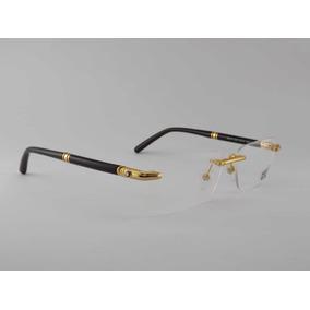 Dichavador Dourado Armacoes Mont Blanc - Óculos no Mercado Livre Brasil 90c7068884