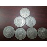 Monedas 5 Pesos Vicente Guerrero Serie Completa 1971 A 1978